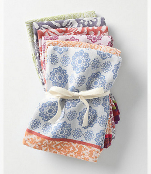 【Anthropologie】Nifty Napkins*6枚セット