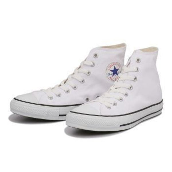 【国内正規品】converse CANVAS ALL STAR COLORS HI 白/黒