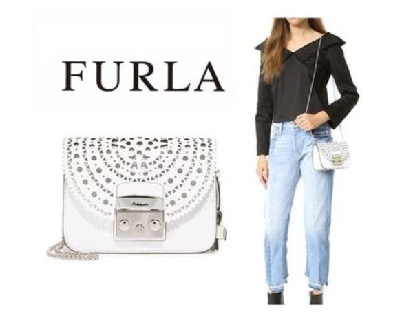 FURLA☆Metropolis Bolero Mini Cross Body Bag☆ショルダー