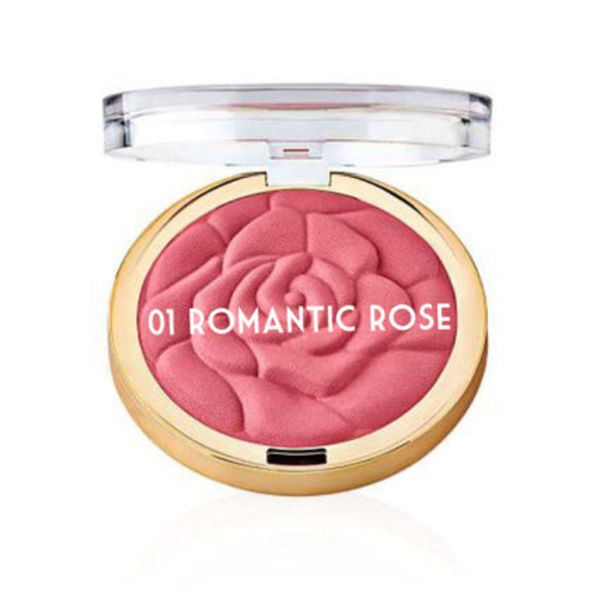 大人気MILANI Rose Powder Blush ローズチーク