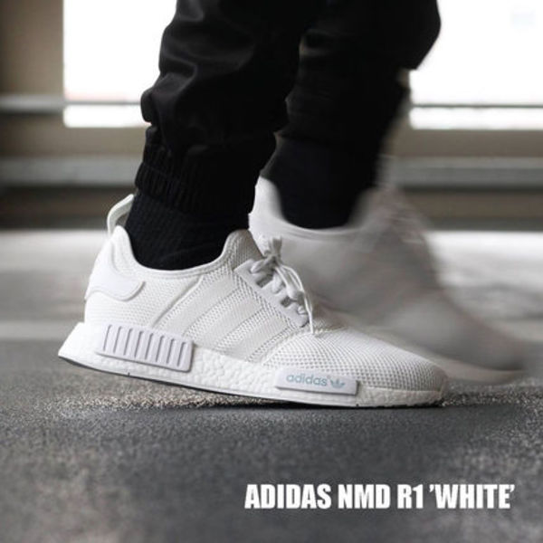 Adidas NMD R1 Runner ALL ホワイト 人気