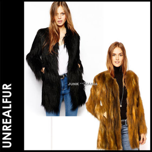 ■SALE★3-7日着/追跡付【即発送・UNREAL FUR】Wanderlust Coat