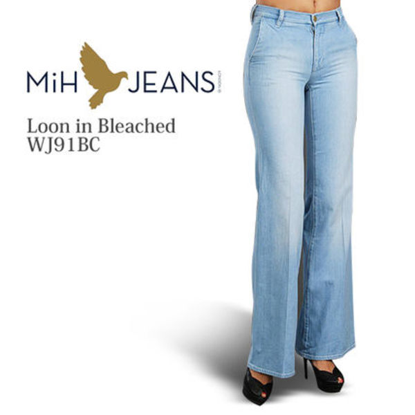 MiH Jeans ルーン ブリーチ