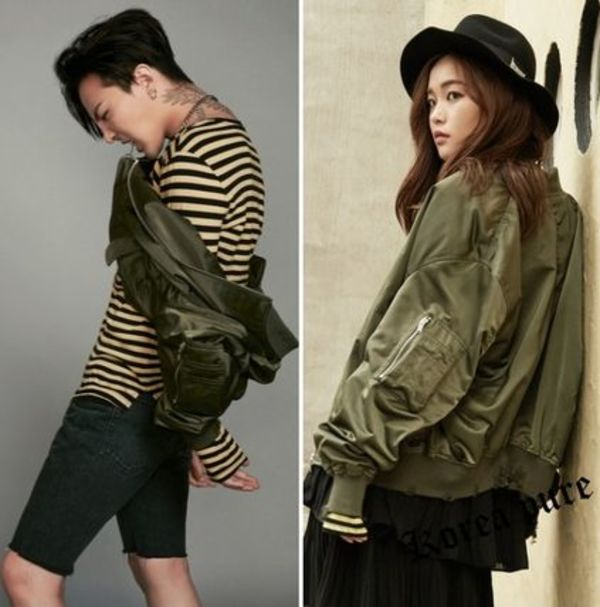 【8X G-Dragon】Khaki MA-1 Blouson GD Collaboration / 2color
