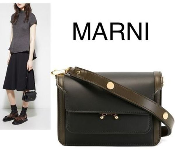 16-17AW MARNI MINI TRUNK レザーバッグ SBMPS01U04LV583Z1O78