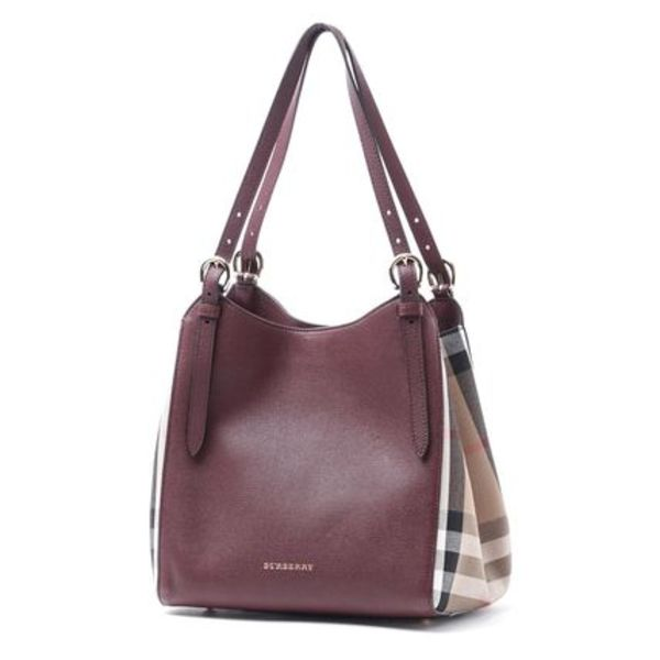 【BURBERRY】バッグ☆CANTER MAHOGANY RED★2016秋冬新作♪