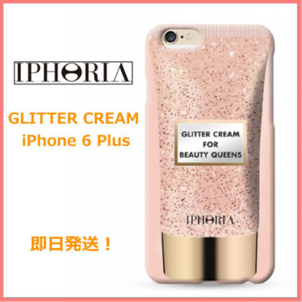 大人気!★アイフォリアIphoria★GLITTER CREAM iPhone 6plus