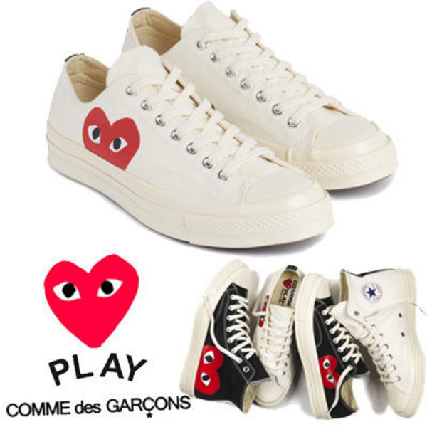新●Play Converse● Chuck Taylor '70 Low White ユニセックス