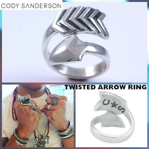 ★Cody Sanderson☆Twisted Arrow Ring☆USサイズ10