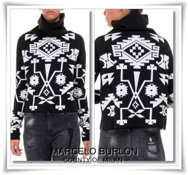 【送料関税込】MARCELO BURLON COUNTY OF MILAN ★16AWセーター