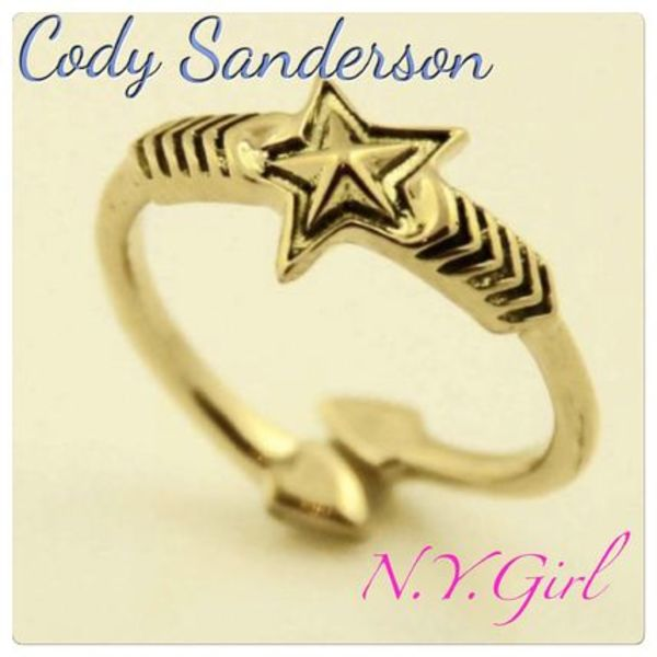 《NEW!》Cody Sanderson*Double Arrow Double Sheriff Star Ring