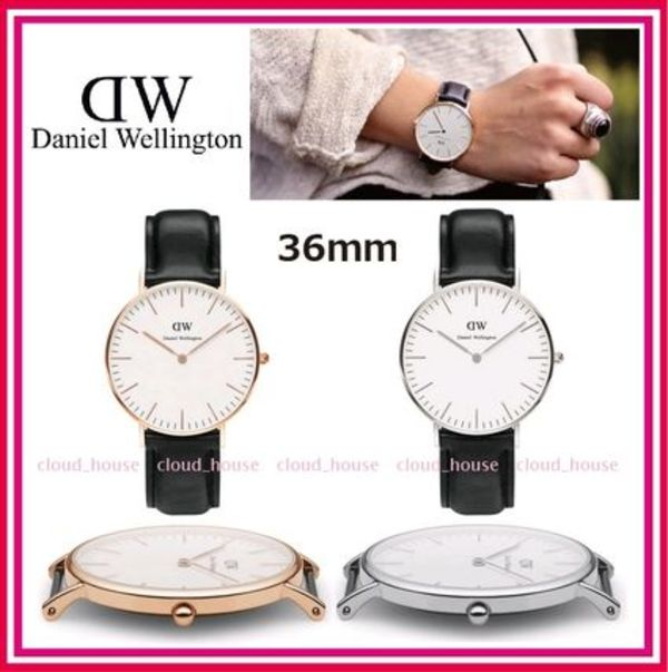 送料関税込☆Daniel Wellington<36mm> Classic Sheffield Lady♪
