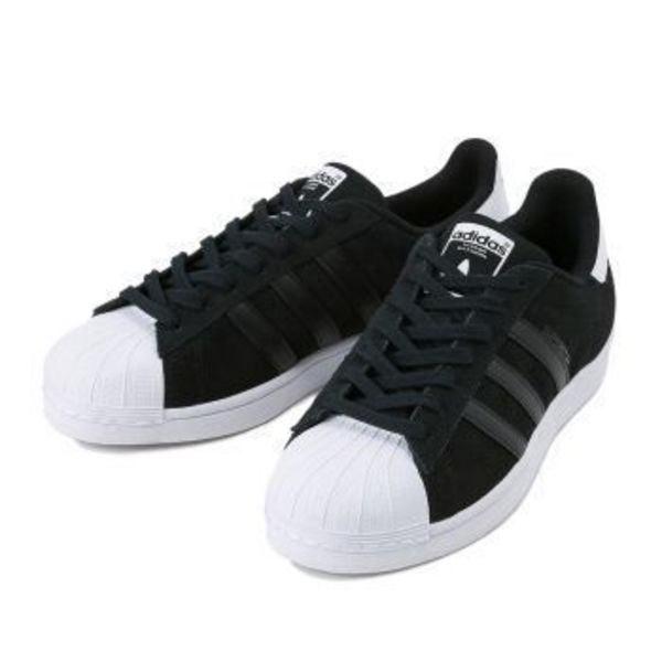 【国内正規品】adidas Originals SUPERSTAR SUEDE AQ5776 黒/白