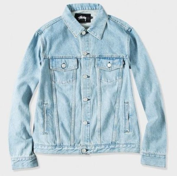 NEW☆ Stussy - CLASSIC DENIM JACKET (Blue or White)