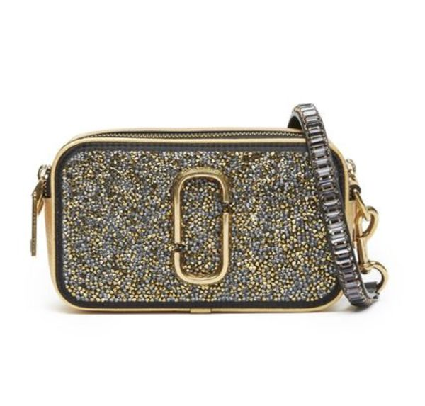 【 MARC JACOBS 】 Snapshot Small Crossbody Camera Bag GOLD