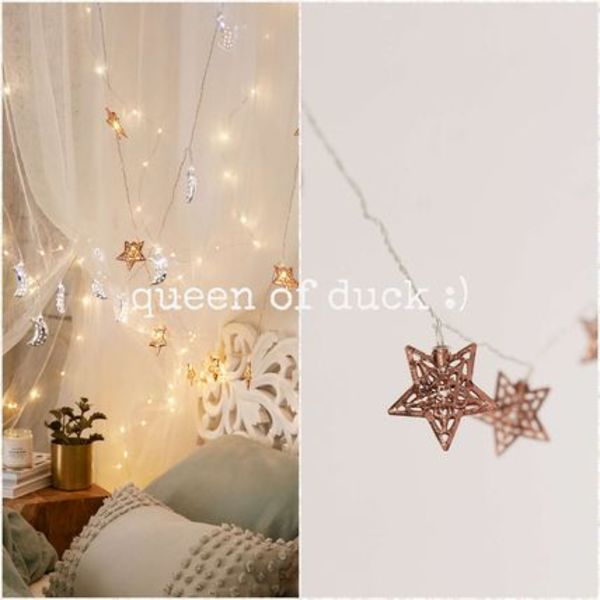送込み_国内発送_UO*Copper Star String Lights♪