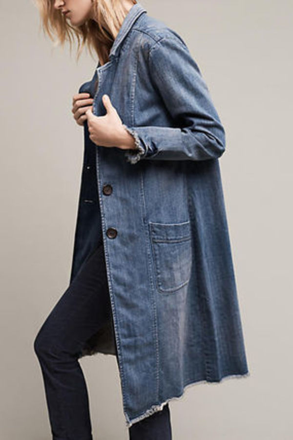 【Anthropologie】新作!お洒落Pilcro Denim Dusterデニムコート