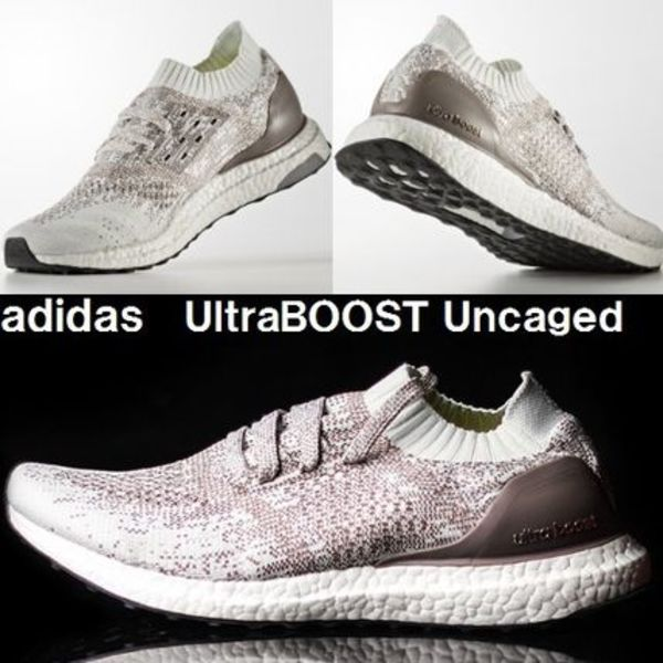 ウルトラブースト★adidas ULTRA BOOST uncaged★White×Gray