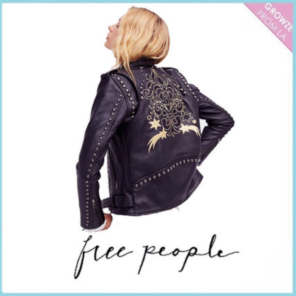 【Free People】ライダージャケット★Gold Rush Biker Jacket