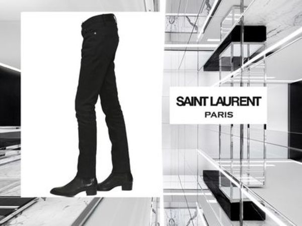 SAINT LAURENTサンローラン ★SKINNY COTTON DENIM JEANS