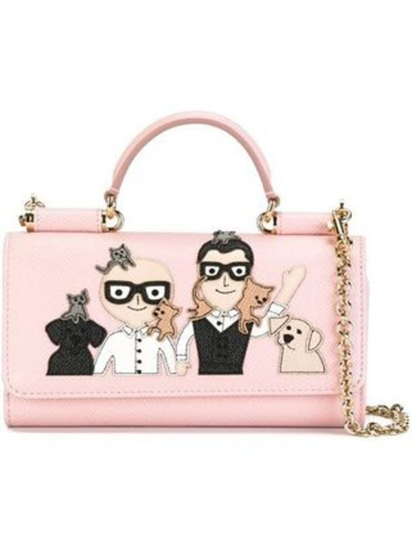 "DOLCE & GABBANAドルチェ/mini sac a bandouli?re ""Von""/バッグ"