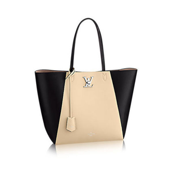 "★【Louis Vuitton】""Cabas Lockme"" Soft Leather★"