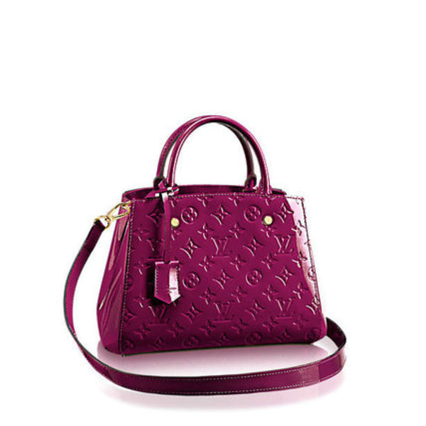 "★【Louis Vuitton】""Montaigne BB"" Pelle Monogram Vernis★"