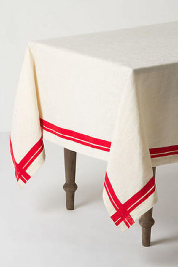 "SALE ""ANTHROPOLOGIE"" Tovaglia Agugliata Table Cloth"