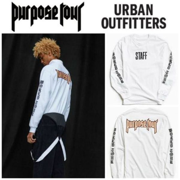 【Justin Bieber愛用】☆海外限定☆Purpose Tour Long-Sleeve T