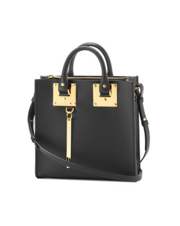 SOPHIE HULME トートバッグ ブラック ALBION SQUARE