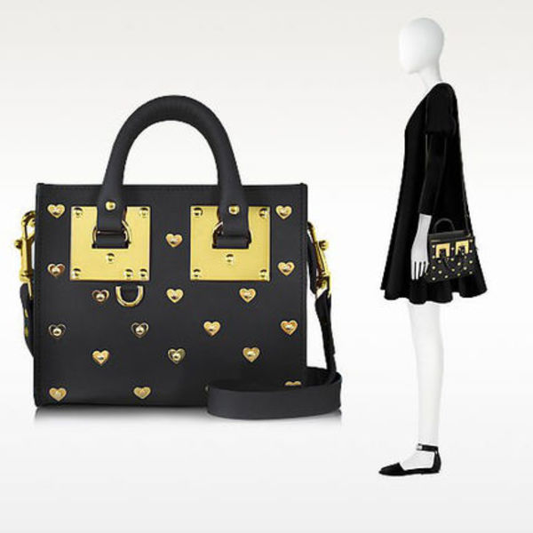 【関税・送料込】SOPHIE HULME Hearts Albion Box Tote Bag
