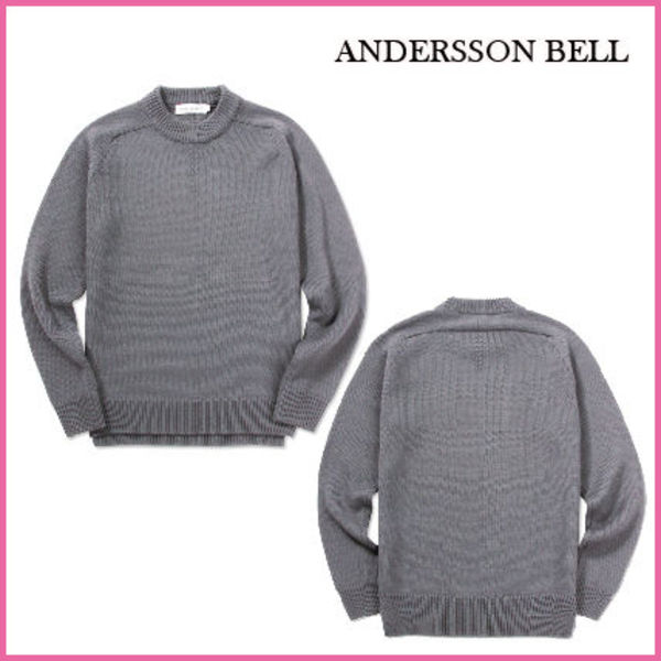 【ANDERSSON BELL】正規品★ NEW SADDLE RAGLAN SWEATER /追跡付