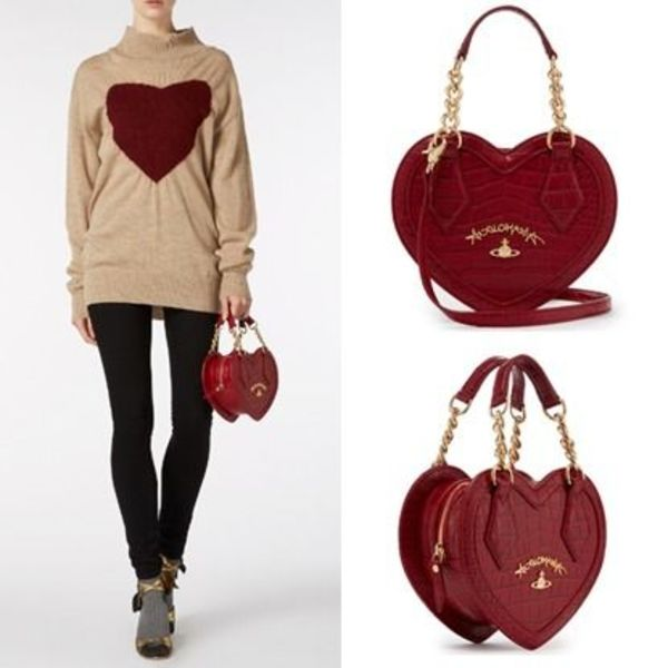 UK発☆Vivienne Westwood☆アングロマニア ハート☆RED DORSET☆