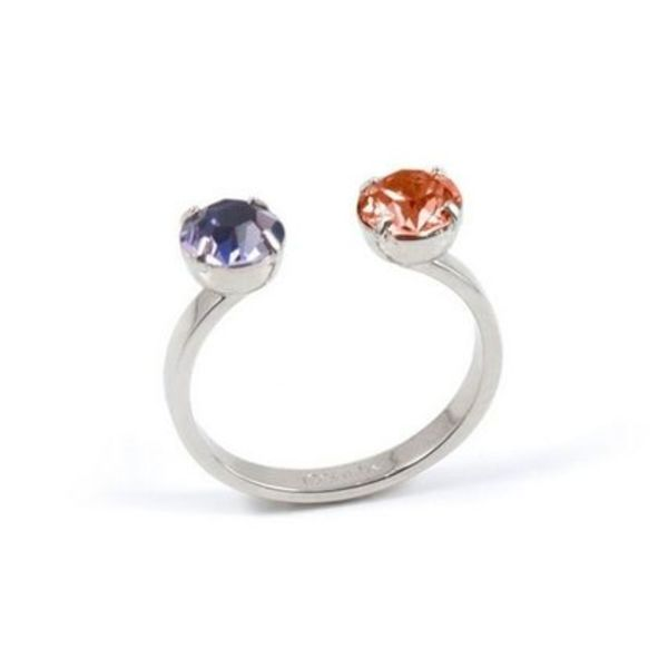 Joomi Lim☆Pixel Perfect Open Ring W/ Crystals☆指輪