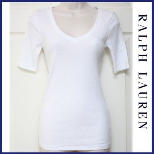 We♡White T-shirts★Ralph Lauren★白T