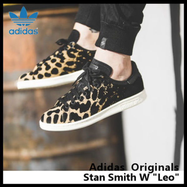 【adidas】Women's Originals STAN SMITH W レオパード S77346