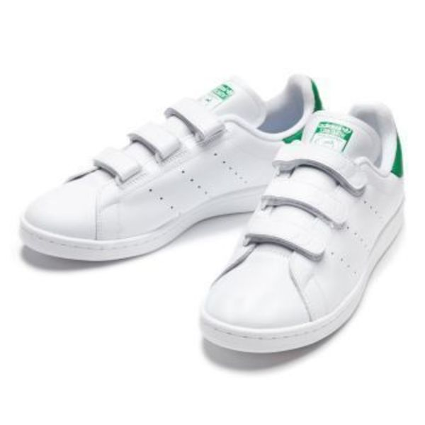 【国内正規品】adidas Originals STAN SMITH CF S75187 白/緑