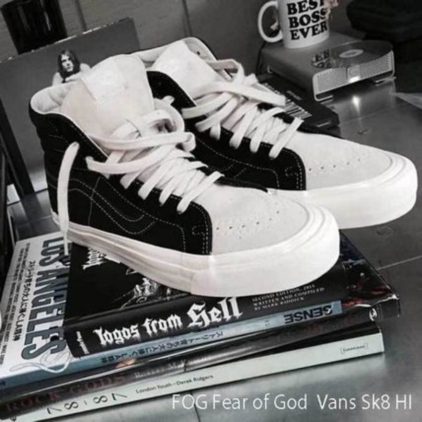 FEAR OF GOD × FOG SK8 HI VANS 超限定