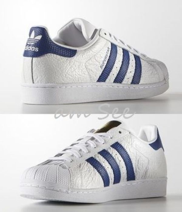 【2016SS】 adidas Originals Superstar ANIMAL スニーカー 青