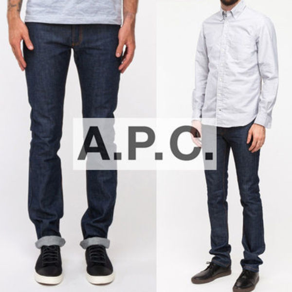 ▲A.P.C.▲デニム NEW CURE HOMME INDIGO 即発