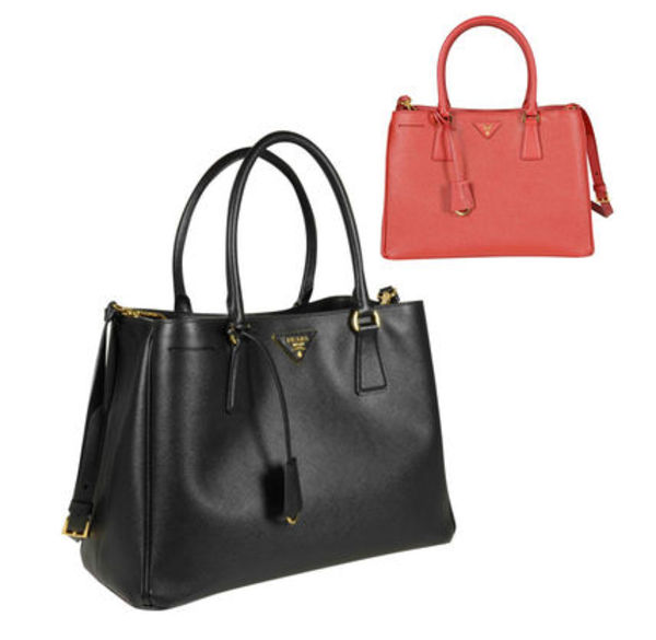 関税・送料込  PRADA SAFFIANO LUX BLACK &RED