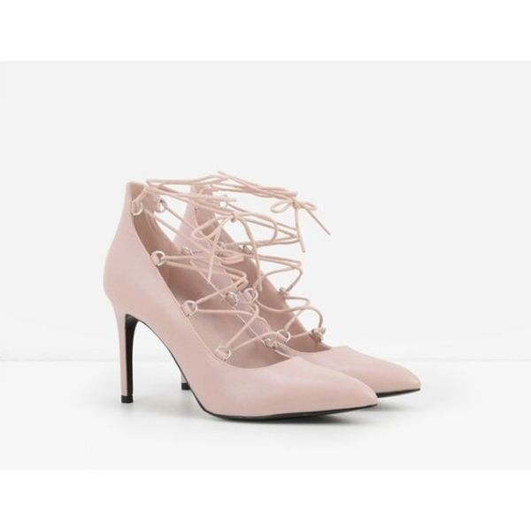 CHARLES & KEITH lace up