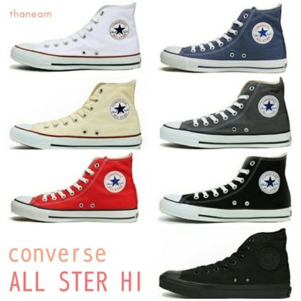 ★converse★CHUCK TAYLOR ALL STAR HI キャンバスオールスター