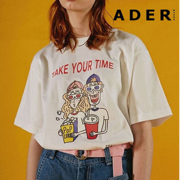 日本未入荷◆ADERERROR◆Take your time t-shirts◆送料込