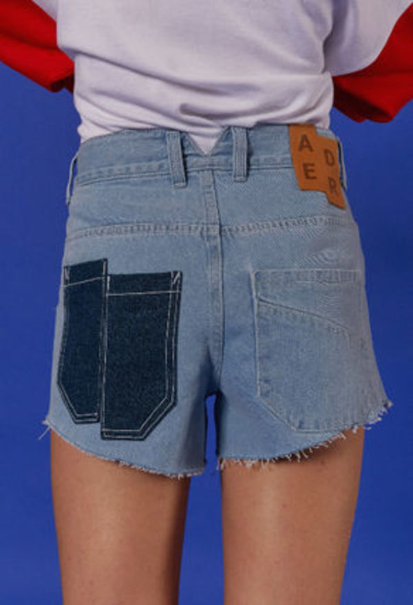 ☆ADERERROR☆ [unisex] Light denim shorts