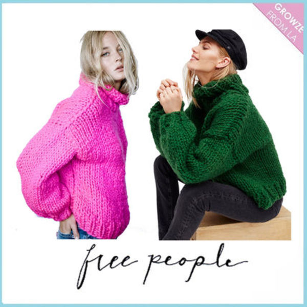 【Free People】激かわいい♪セーターHer Turtleneck