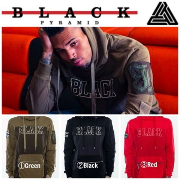 【Chris Brown愛用】☆16AW新作☆TWILL BACKPACK HOODY