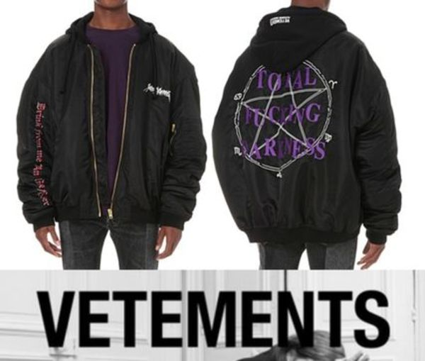 【国内発送】VETEMENTS◆16AW new◆Oversized Bomber Jacket