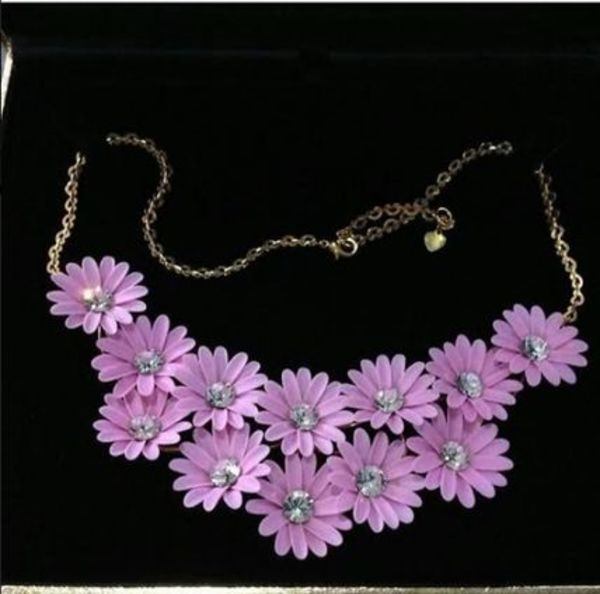 Sretsis Pink Daisies Necklace (New) 入手困難!