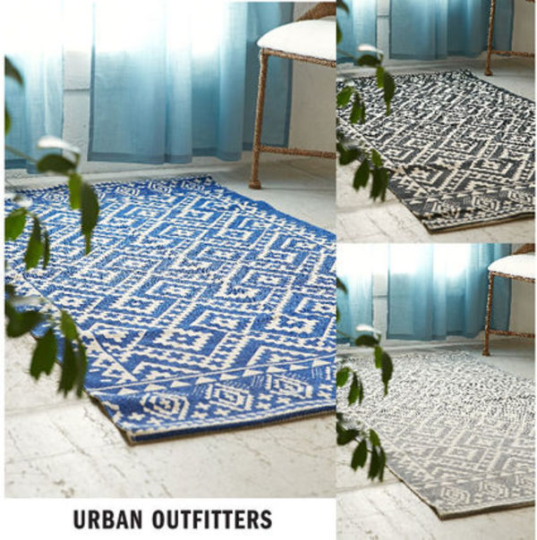NEW!国内発送 * Urban Outfitters ハンドメイド ラグ♪